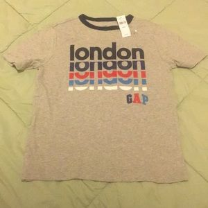 NWT boys London gap shirt size Large